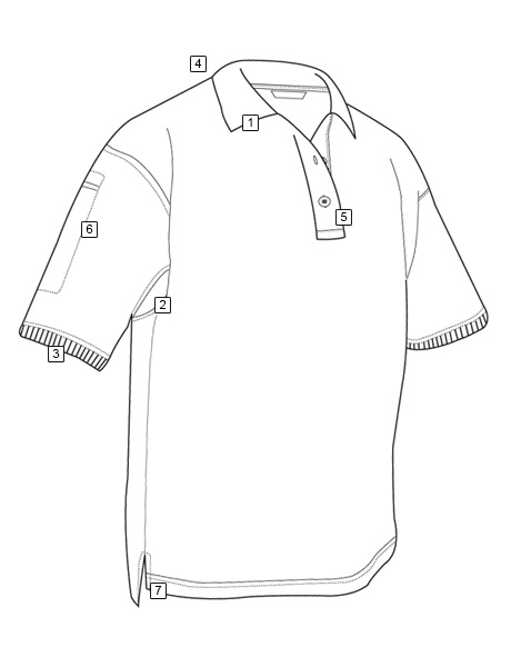 MEN'S SHORT SLEEVE CLASSIC 100% COTTON POLO