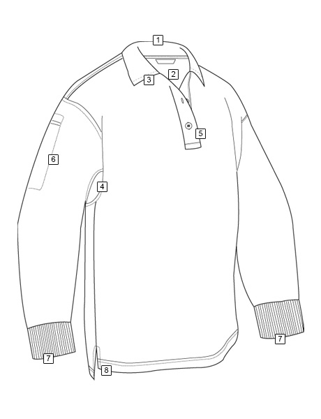 MEN'S LONG SLEEVE PERFORMANCE POLO