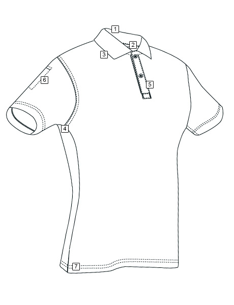 WOMEN'S 24-7 SERIES® SHORT SLEEVE PERFORMANCE POLO