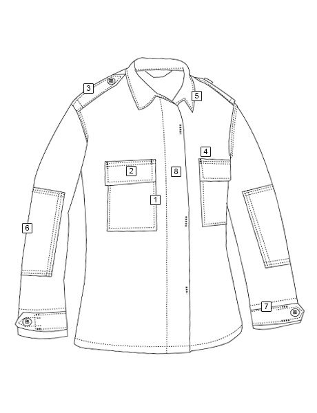 LONG SLEEVE TACTICAL SHIRT