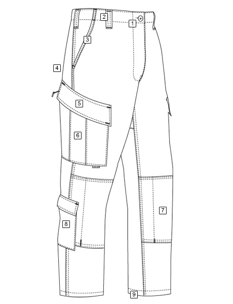 TACTICAL RESPONSE UNIFORM® (TRU®) PANTS