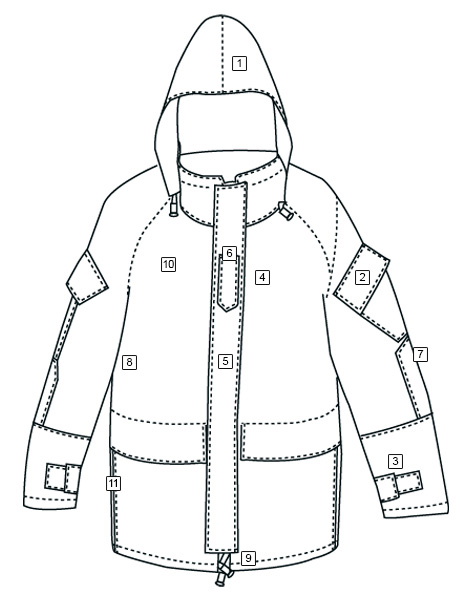 H2O PROOF GEN2 ECWCS PARKA