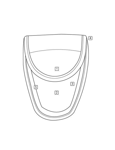 "Tru-Spec 9035000 Black Single Hidden Snap Nylon Handcuff Case 5-1//2/"" x 4/"""