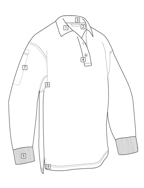 MEN'S ORIGINAL LONG SLEEVE POLO