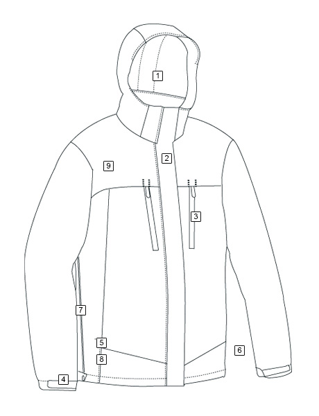 H2O PROOF ELEMENT JACKET