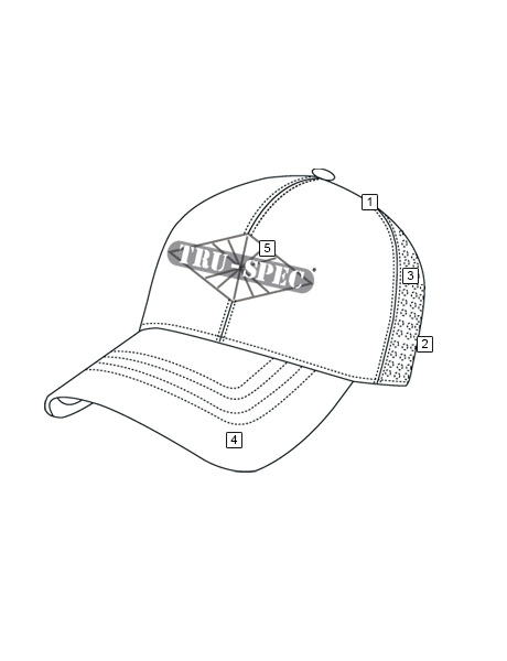 24-7 SERIES® QUICK-DRY OPERATORS CAP, EMBROIDERED