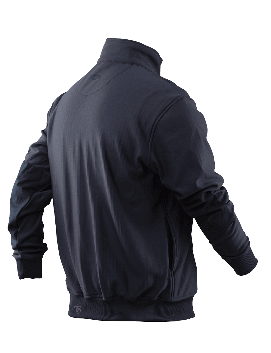 GRID FLEECE ZIP THRU JOB SHIRT